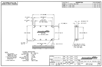 IPP-2192 Outline Drawing