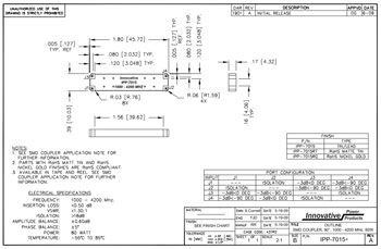 IPP-7015 Outline Drawing