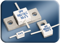 Low Capacitance Flanged RF Resistors
