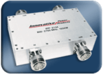 Connectorized 90 Degree Hybrid Couplers